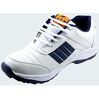 Men's White Running Sports Shoe