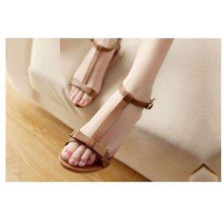 Gibelle Women's Tan Flats