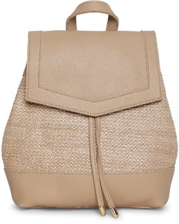 Kielz-Beige-Synthetic-Women-Sling-Bag