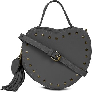 Kielz-Black-Synthetic-Women-Sling-Bag