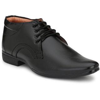 Formal Party Office Black Ankle Shoe For Men By De Rock