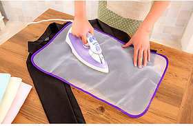 sell net retail Silicone Iron Protector Cover and Ironing Mat Combo Set Anti-slip,Heat Resistant Protective pack of 2