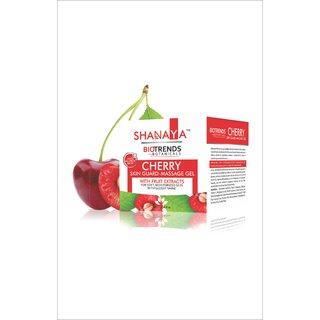 Shanaya Biotrends Botanicals Cherry Skin Guard Massage Gel 100g