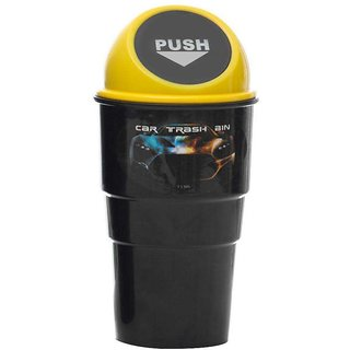 sell net retail Mini Auto Car Office Home Waste Trash Rubbish Bin Car Dustbin Mini Car Trash Bin pack of 1