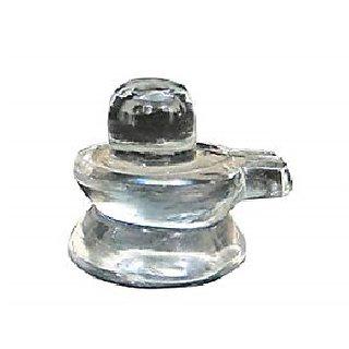 Natural Crystal Shivling original sphatik shiv lingam Jaipur Gemstone