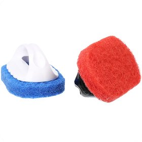 Multipurpose Tile and floor Scrubber/Brush Set of 2 Pcs (Color as per availability)