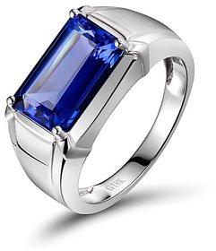 Blue Sapphire / shanipriya Ring Natural  unheated stone neelam ring Jaipur Gemstone