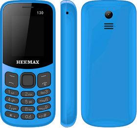 HEEMAX P130 (Dual Sim, 1.8 Inch Display, 1000 Mah Battery, 1 YEAR WARRANTY, Made In India )