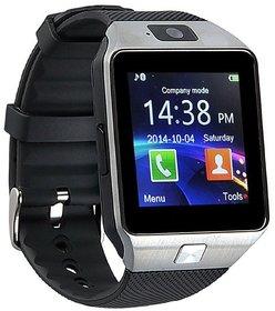 DZ09 Bluetooth Smartwatch With Camera/Sim Support -SILVER