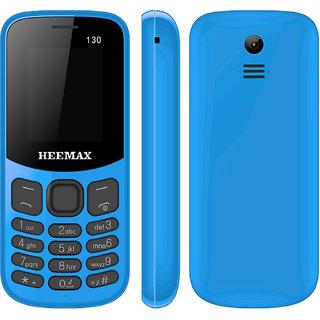 HEEMAX P130 (Dual Sim, 1.8 Inch Display, 1000 Mah Battery, 1 YEAR WARRANTY, Made In India )LIGHT BLUE