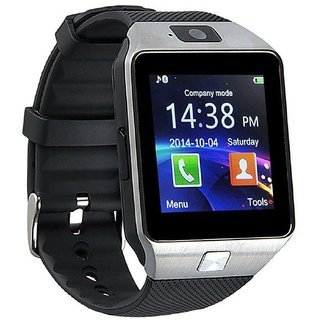 DZ09 Bluetooth Smartwatch With Camera/Sim Support -SILVER