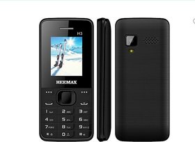 HEEMAX H3 DUAL SIM MOBILE PHONE WITH WIRELESS FM/ DIGITAL CAMERA AND CALL RECORDING FEATURE