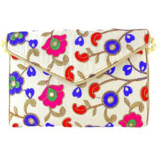 Utkars fashion Vintage Ethnic Handmade Beautiful embroidery Sling Bag for women and girls