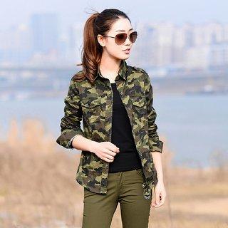 Raabta Army Print Shirt for Women