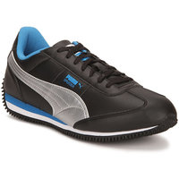 Puma Men's Speeder Tetron II Ind. Black Sports Shoes