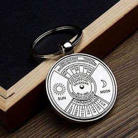 Cooolhim High Quality Shiny Metal 50 Yrs Premium Calendar Key chain
