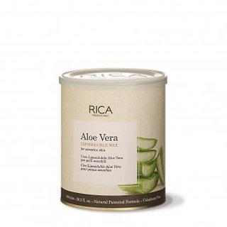 Rica Aloevera Chocolate Wax. With Strips