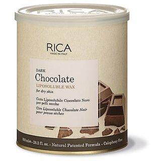 Rica Dark Chocolate Wax. With Strips