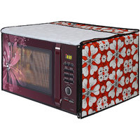 Glassiano Microwave Oven Cover for Morphy Richards 20 Litre Solo Microwave Oven 20 MS , Black