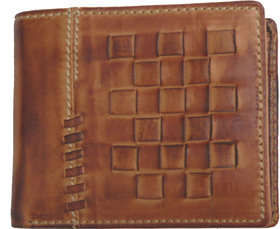 Kareberry Hand Craft Pure Leather Men's Coin Wallet