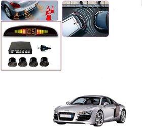 Auto Addict Car Black Reverse Parking Sensor With LED Display For Audi R8