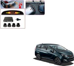 Auto Addict Car Black Reverse Parking Sensor With LED Display For Mahindra Marazzo