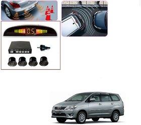 Auto Addict Car Black Reverse Parking Sensor With LED Display For Toyota Innova