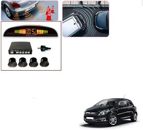 Auto Addict Car Black Reverse Parking Sensor With LED Display For Opel Corsa