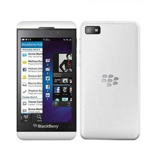 Refurbished BlackBerry Z10 4G 16GB ROM 2GB RAM (White) with 6 months warranty