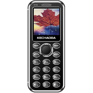 KECHAODA K115 Slim Card Size Bluetooth Dialer Dual Sim Phone With External Memory Slot 1.44 Inch Display