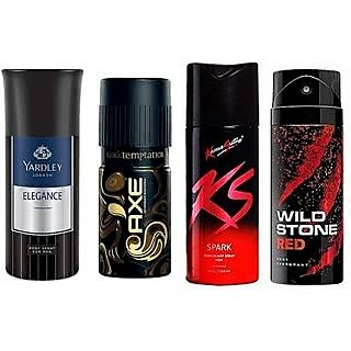 Men's Deodorant Any 3 Assorted Deos Out of 4 Deos