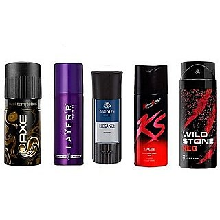 Axe Collection Spray For Men - Set Of 3 (Any 3 Out of 5 as per availability)