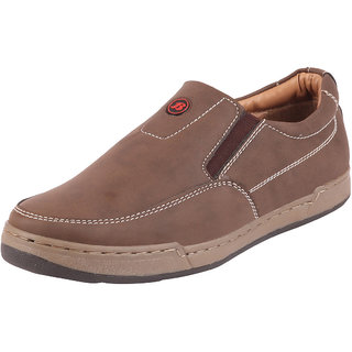 Bata Mens Brown Loafers Casual Shoes