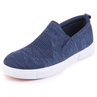 buy sparx men's navy white canvas loafers casual shoes