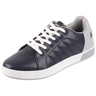 Sparx Men's Navy White Lace Up Sneakers Casual Shoes