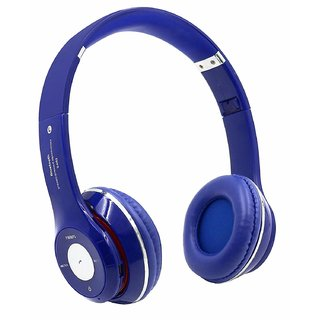 S460 Bluetooth Headset with Mic  Blue, Over the Ear