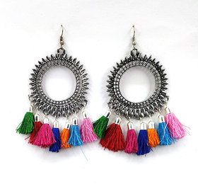Tranding Alloy Tassel Earrings