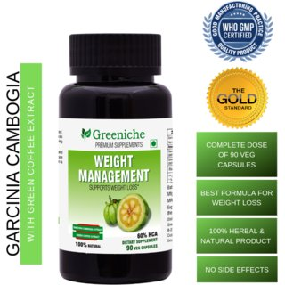 Buy Greeniche Natural And Herbal Garcinia Cambogia Green Coffee