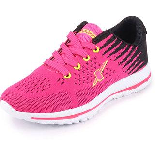 Sparx Women's Pink Black Sports Running Shoes