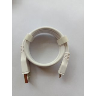 Micro USB Data Cable For Oppo Smartphone Mobile 1 Mtr White Color By Japang