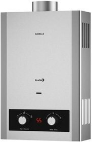 Havells Flagro NGWH 6-Litre Gas Heater (Silver)