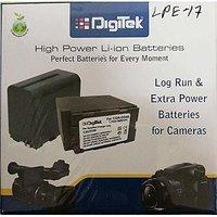 Digitek LP-E17 Battery Pack for Canon EOS 750D EOS 760D EOS 800D EOS 77D (Black)
