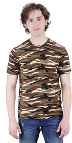 aarmy fit mens printed t-shirt