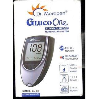 Dr Morepen Glucose Monitor (BG-03)