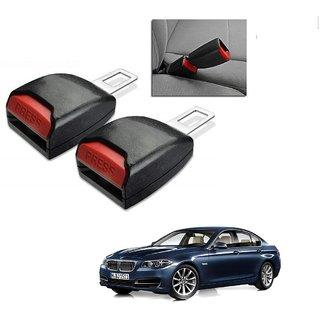 Auto Addict Car Seat Belt Extender Buckle Black Color Set of 2 Pcs For BMW 5 Series