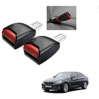 Auto Addict Car Seat Belt Extender Buckle Black Color Set of 2 Pcs For BMW 3 GT