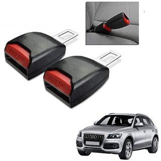 Auto Addict Car Seat Belt Extender Buckle Black Color Set of 2 Pcs For Audi Q5