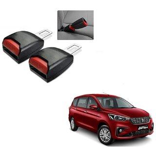 Auto Addict Car Seat Belt Extender Buckle Black Color Set of 2 Pcs For Maruti Suzuki Ertiga New 2019