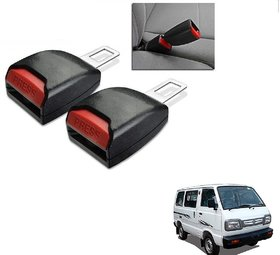 Auto Addict Car Seat Belt Extender Buckle Black Color Set of 2 Pcs For Maruti Suzuki Omni
