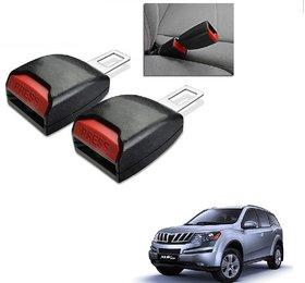 Auto Addict Car Seat Belt Extender Buckle Black Color Set of 2 Pcs For Mahindra XUV 500